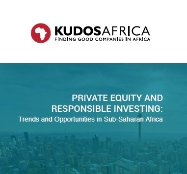 Private Equity Responsible Investing - trends in sub-Saharan Africa