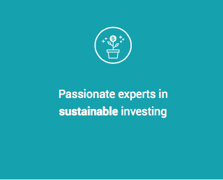 passionate experts in sustainable investing