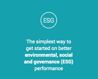 a better simple way to get started on ESG performance